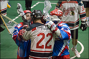 July 9 2015 versus Brooklin Redmen