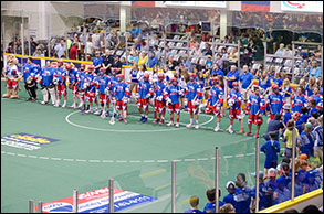 June 4 2015 versus Brooklin Redmen